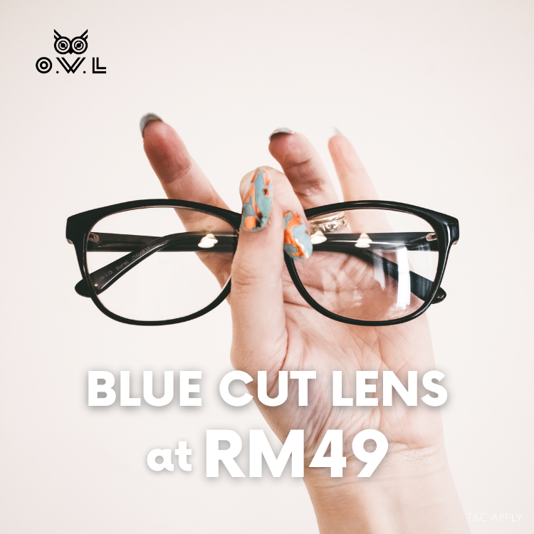 Top up Blue Cut lens at RM49