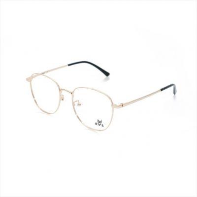 Glossy Black Square FOWL-PI9006TL-C02 Eyeglasses