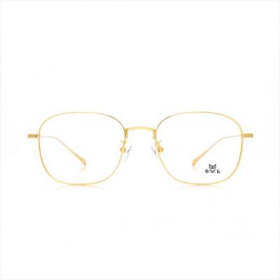 Gold Square FOWL-PJACLS0028-C2 Eyeglasses